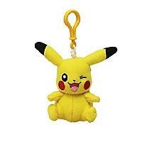 Pokémon - Plüsch Schlüsselanhänger Pikachu