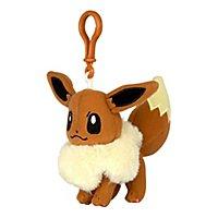 Pokémon - Plüsch Schlüsselanhänger Evoli