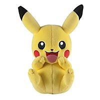Pokémon - Plüschfigur Pikachu lachend