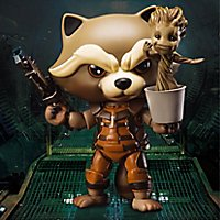 Guardians of the Galaxy - Actionfigur Rocket mit tanzendem Groot Egg Attack