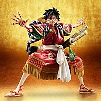 One Piece - Statue Monkey D. Luffy Kabuki Edition