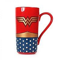 Wonder Woman - Latte-Macchiato Tasse Logo