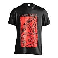 Game of Thrones - T-Shirt Targaryen Red