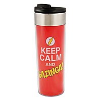 The Big Bang Theory - Thermobecher Keep Calm and Bazinga