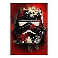 Star Wars - Metall-Poster Masked Troopers Splatter