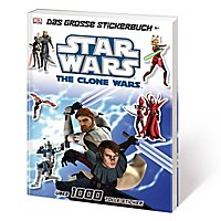 Star Wars: The Clone Wars - Das große Stickerbuch