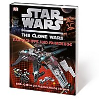 Star Wars: The Clone Wars - Raumschiffe und Fahrzeuge Buch