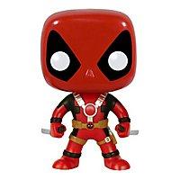 Deadpool -  Wackelkopf Funko POP! Figur mit gezogenen Katanas