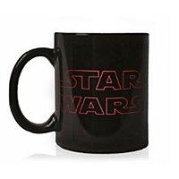 Star Wars 8 - The Last Jedi Logo Tasse mit Thermoeffekt