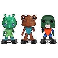 Star Wars - Greedo, Hammerhead, Walrus Man Funko POP! Figuren-Set (Exclusive)
