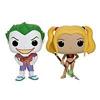 DC - Joker & Harley am Strand Funko POP! Figuren-Set (Exclusive)