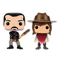 The Walking Dead - Negan & Carl Funko POP! Figuren (Exclusive)