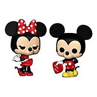 Disney - Valentine Mickey & Minnie Funko POP! Figuren (Exclusive)