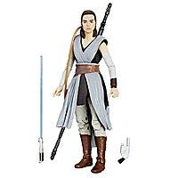 Star Wars 8 - Actionfigur Rey The Black Series