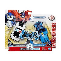 Transformers - Combiner Force Actionfiguren Strongarm & Optimus Prime Lunar Force Edition