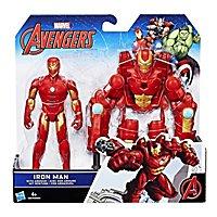 Iron Man - Avengers Deluxe Actionfigur Iron Man mit Rüstung