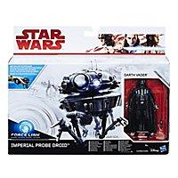 Star Wars 8 - Spielset Imperialer Probe Droid & Darth Vader
