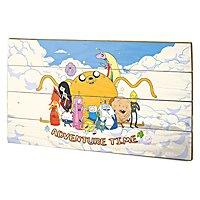 Adventure Time - Holz-Print Cloud