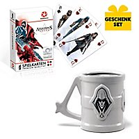 Assassin's Creed - Geschenk-Set aus Tasse & Spielkarten