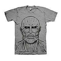 Attack on Titan - T-Shirt Titan Sketch