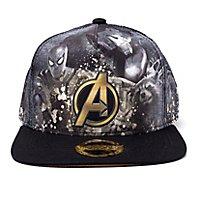 Avengers Infinity War - Heroes All AOP Snapback Cap