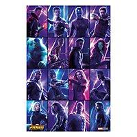 Avengers: Infinity War - Poster Heroes