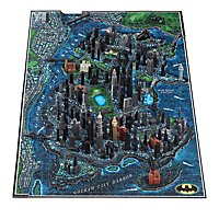 Batman - 4D Large Puzzle Gotham City