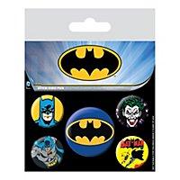 Batman - Ansteck-Buttons Batman & Joker
