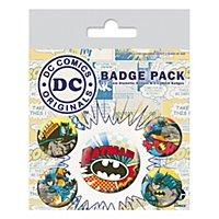 Batman - Ansteck-Buttons Comic Capers DC Originals