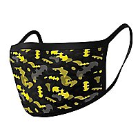 Batman - Batman Camo Yellow Stoffmasken Doppelpack