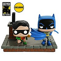 Batman - New Look Batman und Robin (1964) Funko POP! Comic Moments Set