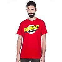 Big Bang Theory - T-Shirt Bazinga Super Logo