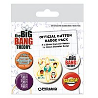 Big Bang Theory - Ansteck-Buttons