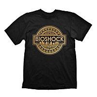 Bioshock: Infinite - T-Shirt Goldenes Logo