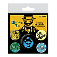 Breaking Bad - Ansteck-Buttons Heisenberg