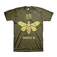 Breaking Bad - T-Shirt Methylamine Barrel Bee olive