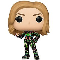 Captain Marvel - Captain Marvel in Neon-Uniform Funko POP! Figur