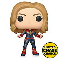 Captain Marvel - Captain Marvel Funko POP! Wackelkopf Figur (Chase Chance)