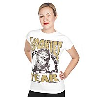 Star Wars - Girlie Shirt Wookiee Of The Year