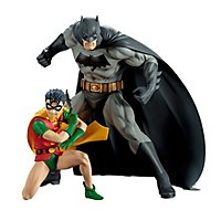 DC Comics - Statuen Batman & Robin ARTFX+