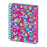 DC - Notizbuch Girl Power Kreise