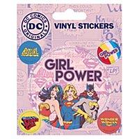 DC - Vinyl Sticker Set Girl Power
