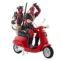 Deadpool - Actionfigur Marvel Legends Deadpool-Corps auf Scooter