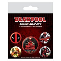 Deadpool - Ansteck-Buttons
