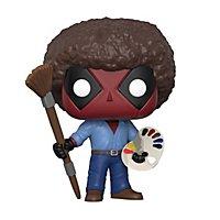 Deadpool - Deadpool als Bob Ross Funko POP! Wackelkopf Figur