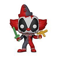 Deadpool - Deadpool Clown Funko POP! Wackelkopf Figur