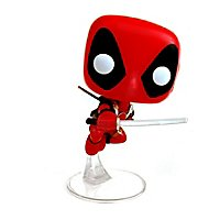Deadpool - Deadpool springend Funko POP! Wackelkopf Figur (Exclusive)