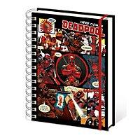 Deadpool - Notizbuch Comic