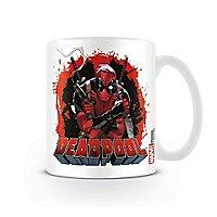 Deadpool - Tasse Pistole & Messer