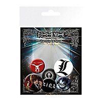 Death Note - Ansteck-Buttons Mix
